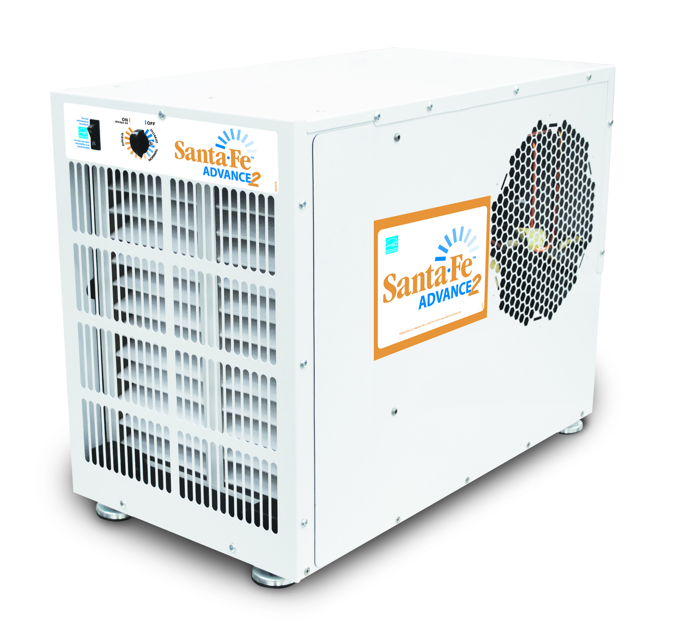 We are excited to introduce the new Santa Fe Advance2 dehumidifier  #AD681E